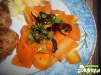 Wstążki marchewkowe