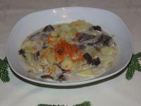 Zabielana zupa grzybowa