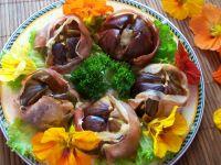 Zapiekane figi z serem i szynką