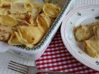 Zapiekane naleśniki z serem