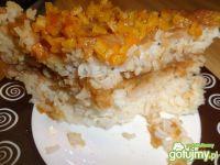 Zapiekanka ryżowa z kaszą manną