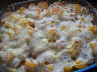 Zapiekanka z kurczakiem, brokułem i dynią