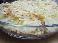 Zapiekanka z ziemniaków i kiełbasy