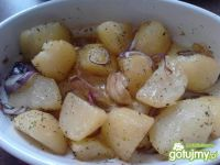 Zawsze udane pieczone ziołowe  ziemniaki