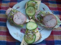 Zdrowe  kanapki