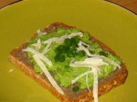 Zielona pasta kanapkowa