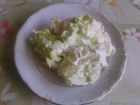 Zielona surówka z sosem