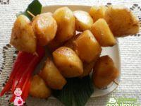 Ziemniaki pieczone w sosie  Teriyaki