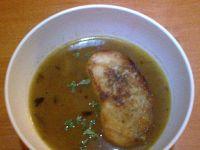 Zupa cebulowa z grzankami 5