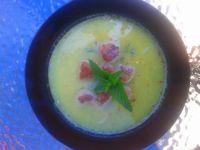Zupa cytrynowa z cukinią i kulkami mięsnymi