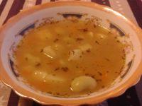 Zupa fasolowa z majerankiem