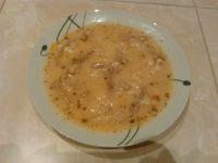Zupa flaczki wołowe