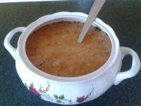 Zupa grochowa z makaronem