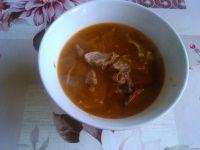 Zupa gulaszowa wołowa