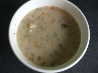 Zupa kalafiorowo - brokułowa