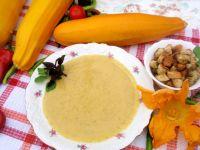 Zupa krem z cukinii z koperkiem