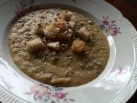 Zupa krem z kalafiora z czubrycą zieloną