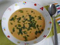 Zupa-krem z pora i jaglanki