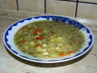 Zupa ogórkowa z kurczakiem