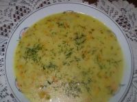 Zupa ogórkowa z ryżem :