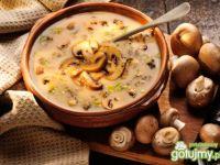 Zupa pieczarkowa 1