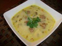 Zupa pieczarkowa z pulpetami wg Zub3r'a