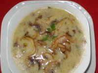 Zupa pieczarkowa z ziemniakami :