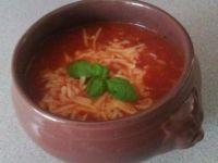 Zupa pomidorowa z mięsem mielonym