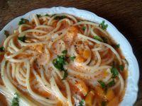 Zupa pomidorowa z natką pietruszki - zabielana