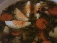 Zupa szczawiowa z kurczakiem