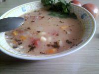 Zupa warzywna z pomidorami