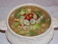 Zupa z bobu  z ziemniakami