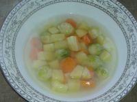 Zupa z brukselką dla malucha