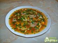 Zupa z fasoli szparagowej