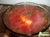 Zupa z marynowanymi buraczkami