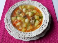 Zupa ziemniaczana z kalafiorem