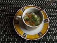 Zupa ziemniaczana z ogórkami i koperkiem