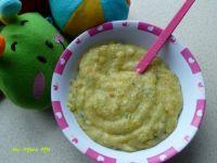 Zupka brokułowo-kalafiorowa z kaszą manną