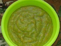 Zupka brokułowo-wieprzowa