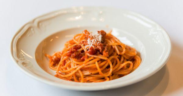 Barilla spaghetti all'amatriciana