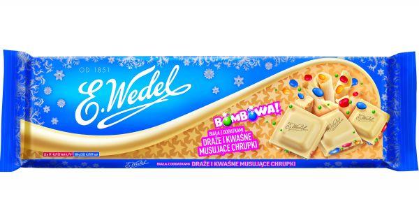 Bombowa czekolada - biała