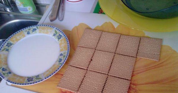 Chatka Puchatka - W ten sposób należy układać herbatniki. Z wszystkich ciastek powinno powstać dwie długości standardowej blaszki.