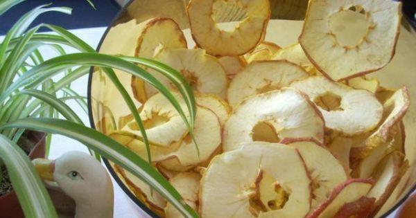 Chipsy jabłkowe  - Chipsy jabkowe