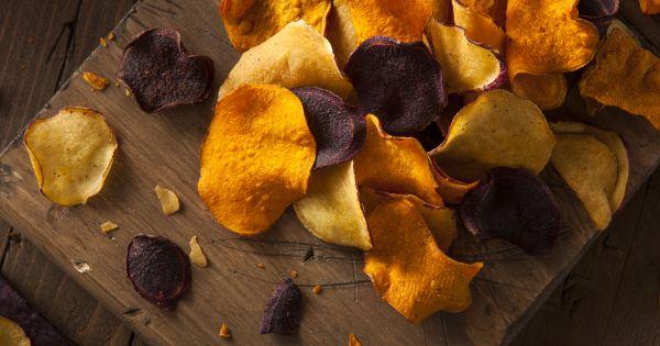 Chipsy wielowarzywne