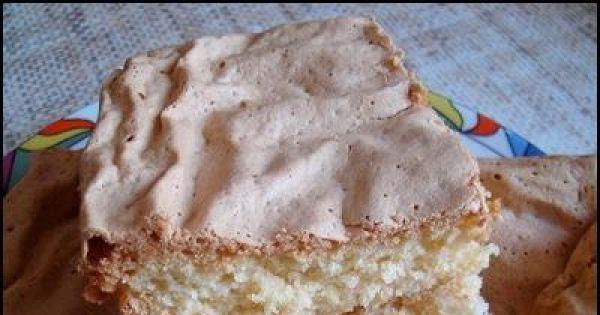 Ciasto z majonezem - Gotowe ciasto waniliowo-śmietankowe z majonezem.