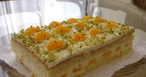 Ciasto z masa serowa i mandarynkami - Smacznego;-)