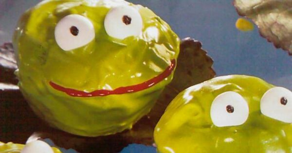 Ciasto zielone żabki - Ciasto zielone żabki