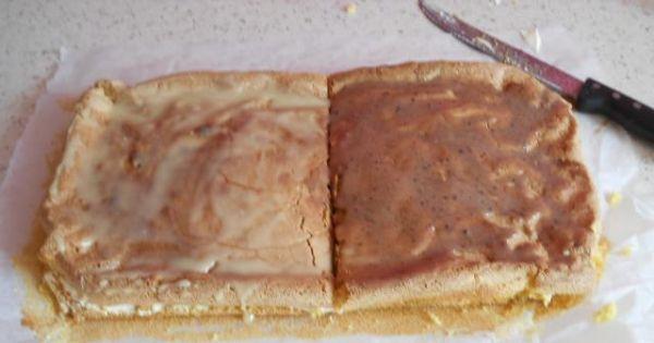 Cos słodkiego  -  Milkiłej - Biszkopt posmarowany kremem przykryty drugim biszkoptem polarny czekoladą