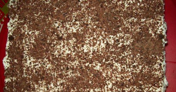 Czarny las- pyszne ciasto  - tutaj cała blaszka świeżo po upieczeniu