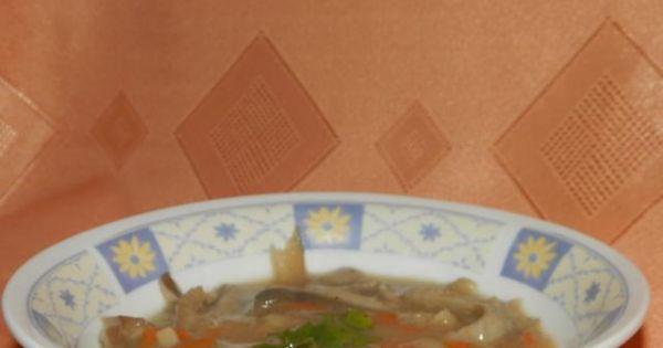 Flaczki z boczniaków - Zdjęcie główne